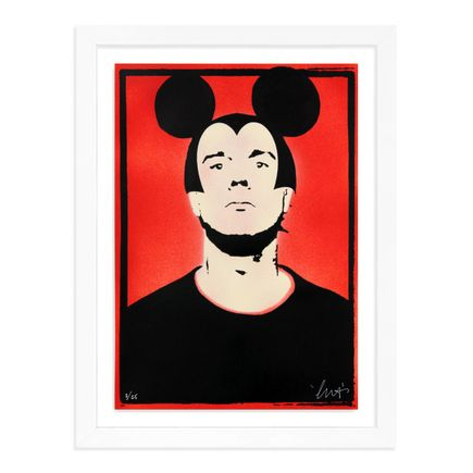 Copyright Art Print - Andy Mouse