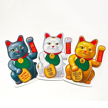 Mark Sarmel Art - Lucky Cat Sticker Pack