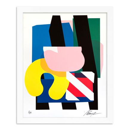 Maser Art Print - Stacked Forms 002 - Standard Edition