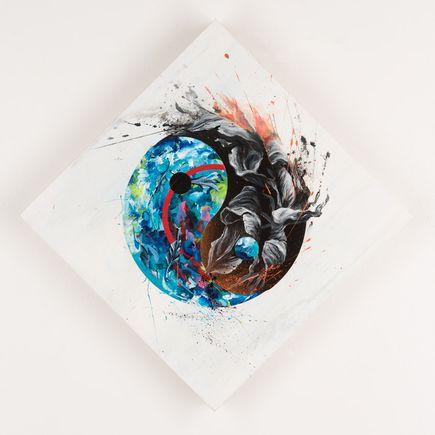 Meggs Original Art - Search For Harmony I - Original Artwork