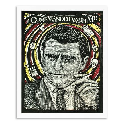 Zeb Love Art Print - The Twilight Zone - Glow In The Dark Edition