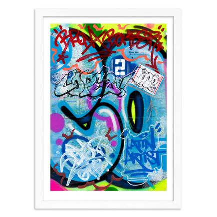 Cope2 Art Print - Standard Edition - New York City Subway Maps IV - Limited Edition Prints