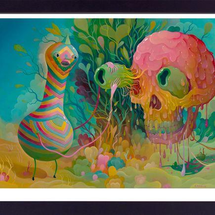 Charlie Immer Art Print - Slippery Removal