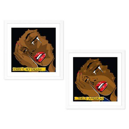 Denial Art Print - This Is America + Sorry Is Not Enough - 2-Print Set