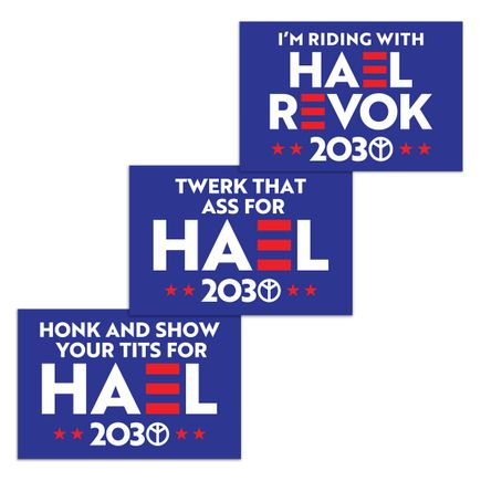 Hael Art - HAEL 2030 - 3-Sign Set