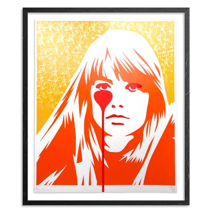 Pure Evil Art Print - 01 Hand-Finished Variant - Françoise Hardy - Jacques Dutronc's Nightmare - Endless Summer Edition