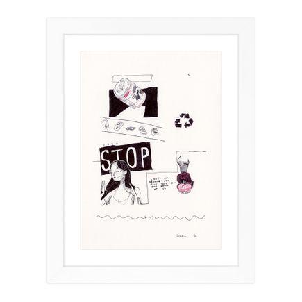 James Wilson  Original Art - Just Stop