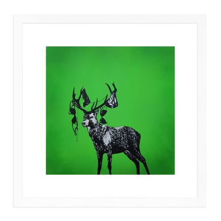 MAD Art - Runaway Stag - Hand-Painted Multiple