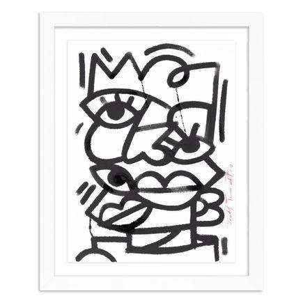 Sheefy Original Art - B4 My Flight - 12 x 16 - 2