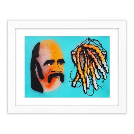 Tom Gerrard Original Art - Man & Plant 1
