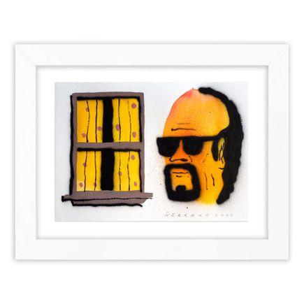 Tom Gerrard Original Art - Window & Man 2