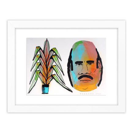 Tom Gerrard Original Art - Plant & Man - 2