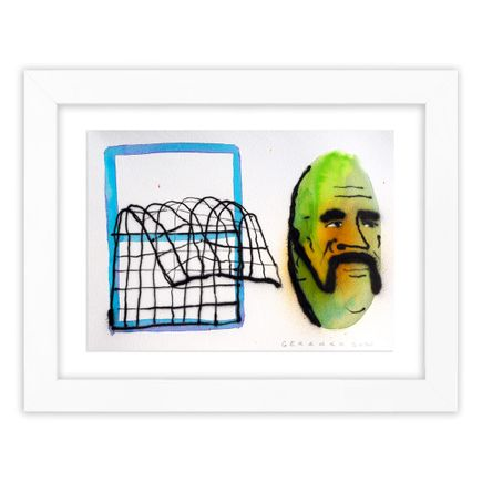 Tom Gerrard Original Art - Window & Man