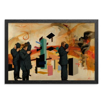 Adam Caldwell Original Art - Ceremony - Framed Original Artwork