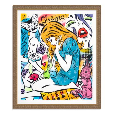 Aiko Art Print - Emotions - Hand-Painted Multiple - 01
