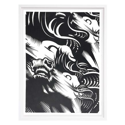 ASVP Art Print - Triple Crown - Black & Silver Edition