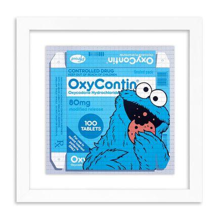 Ben Frost Art Print - OxyCookie - Blotter Edition