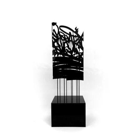 Bisco Smith Art - Break Rules - Acrylic Sculpture