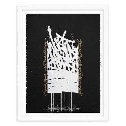 Bisco Smith Art Print - World Shift - Hand-Embellished Edition - 01