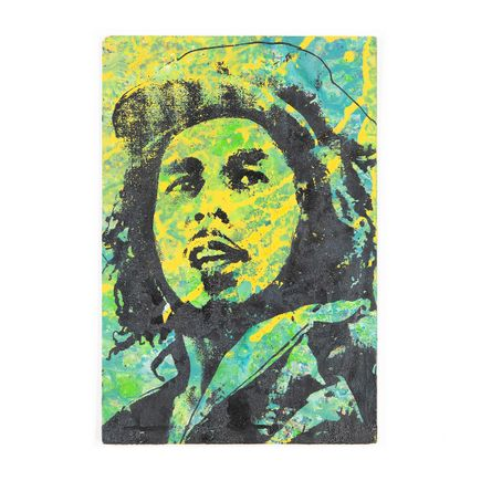 Bobby Hill Art - Bob Marley In His Youth