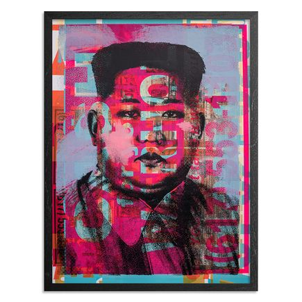Cash For Your Warhol Art Print - Monoprint I - CFYW Kim Jong-un