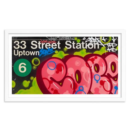 Cope2 Art Print - Standard Edition - 33rd Street Station - Limited Edition Prints