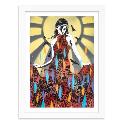 Copyright Art Print - Elegance Rising - Sunshine