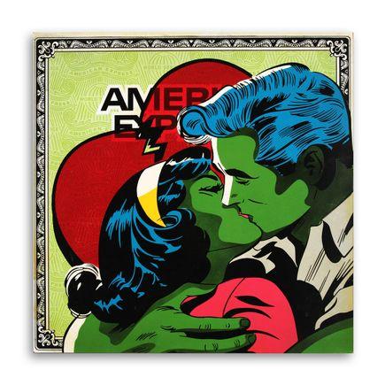 Denial Original Art - American Expression - 24 x 24 Inch