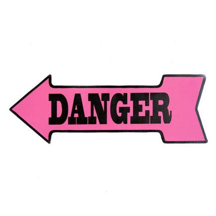 Denial Original Art - Danger - Cut-Out