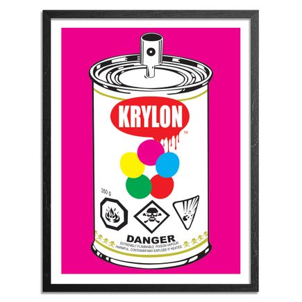 Denial Art Print - Pop Can - Pink Edition