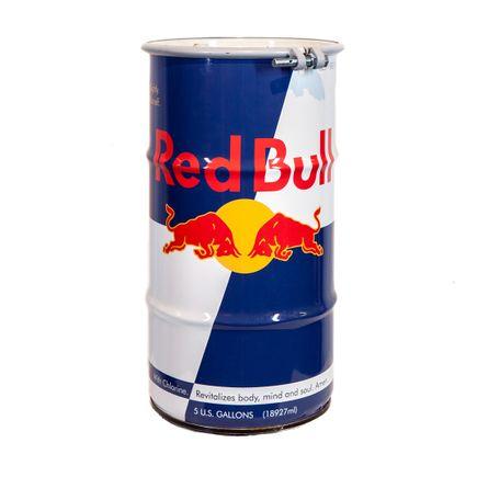 Denial Original Art - Redbull Toxic Waste Barrel
