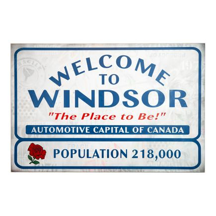 Denial Original Art - Welcome to Windsor - Original Artwork