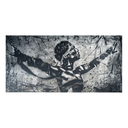 Eddie Colla Art Print - Faith - Steel Edition