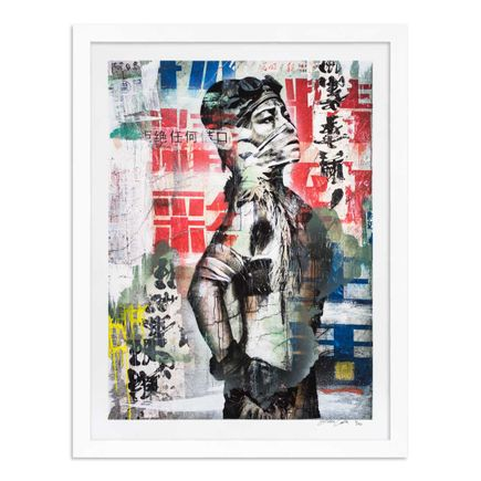Eddie Colla Art Print - 1 of 40 - Without Excuse - Hand-Embellished Edition