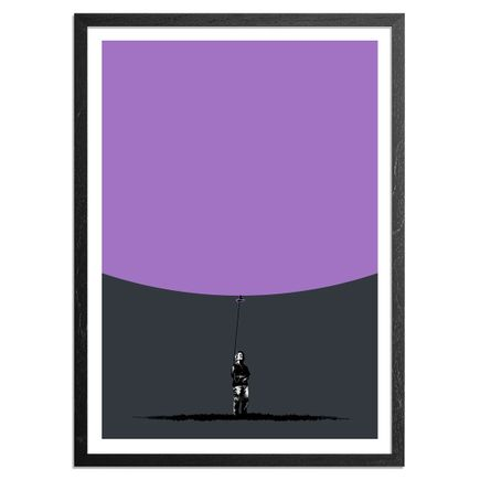 Eelus Art Print - 1 of 10 - Hand-Painted Balloon Edition - Hold On To What You Got