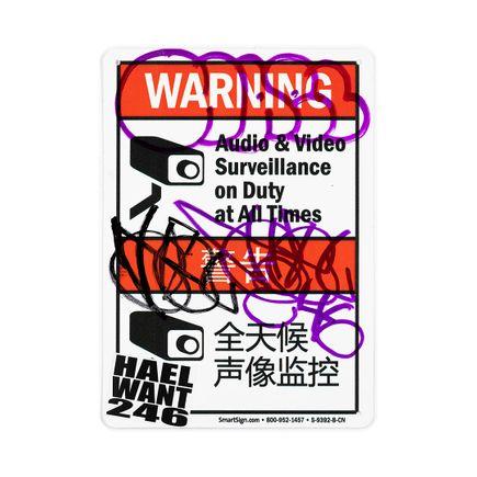 Hael Original Art - Warning En/Ch - III
