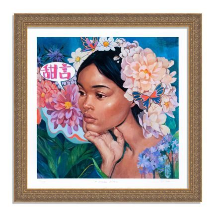 Helice Wen Art Print - A Garden Within - Hand-Embellished Edition - Variant I