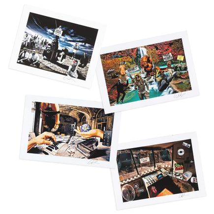 Osunlade Art Print - WRYB - 4-Print Set