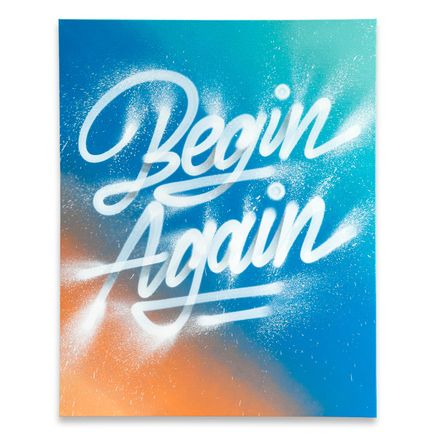 It's A Living Original Art - Begin Again - Original Artwork