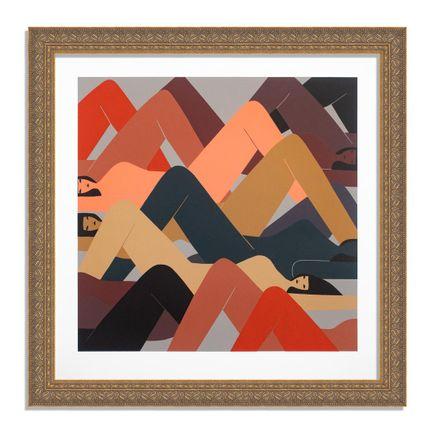 Laura Berger Art Print - As Mountains