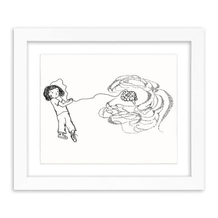 Melissa Villaseñor Art - Pull Brain