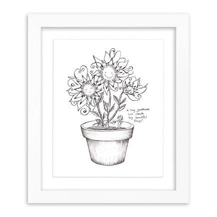 Melissa Villaseñor Art Print - Flower Pot