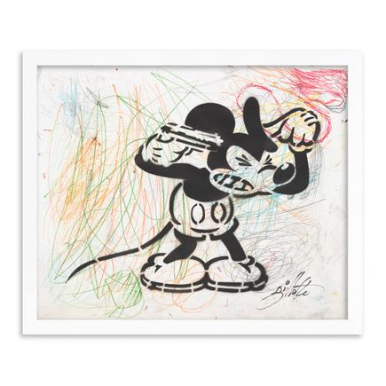 Jeff Gillette Original Art - 01 - Mickey Suicide - Part II - Hand-Painted Multiples