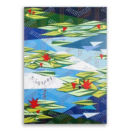 Naturel Original Art - Water Lillies 2 - Original Artwork