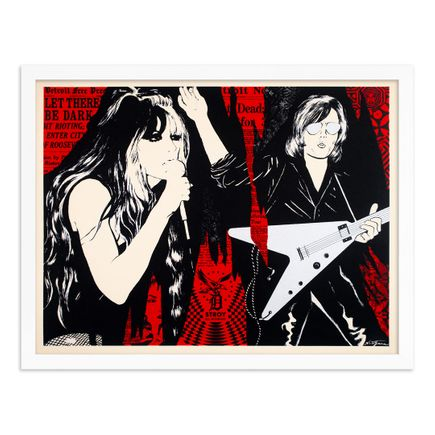 Niagara x Shepard Fairey Art Print - Let There Be Dark - Red Edition