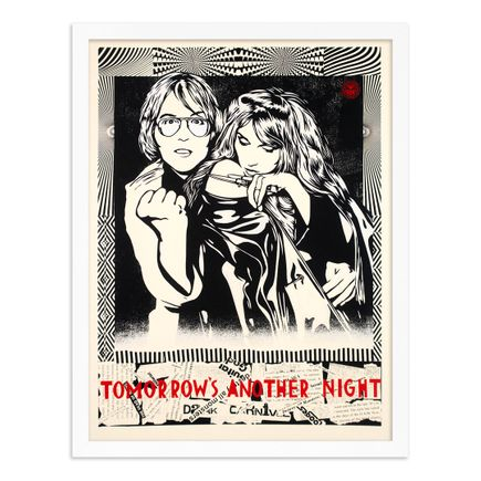 Niagara x Shepard Fairey Art Print - Tomorrow's Another Night - Red Edition