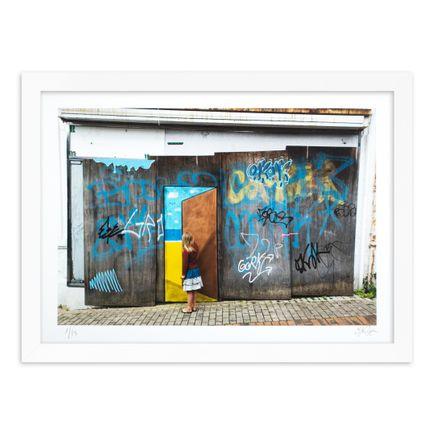 OakOak Art Print - 1 of 15 - Escape Door - Hand-Painted Multiple