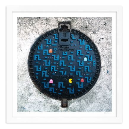 OakOak Art Print - 1 of 15 - Pac Man: Level I - Hand-Painted Multiples