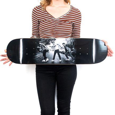 Ricky Powell Art Print - Charles Street Shuffle - Skate Deck Variant