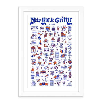 Roachi Art Print - New York Gritty - 2-Color Edition